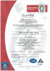 Certifikace #1